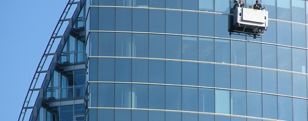 Commercial Cleaning Windows and Building Exteriors